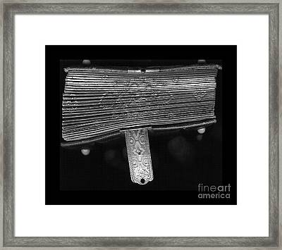 Holding Time - 2 Framed Print by Linda Knorr Shafer