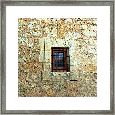 Hole In The Wall Framed Print by James Granberry