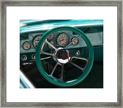 Holiday Drive Framed Print by Gwyn Newcombe