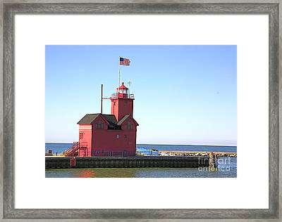 Holland Mi-big Red Framed Print by Robert Pearson