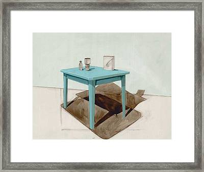 Hollow Still Life 1 Framed Print by Adrienne Romine