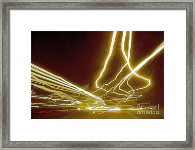 Hollywired Framed Print by Althea Brown