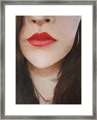 Hollywood Framed Print by Holly Magar