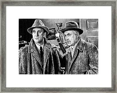 Holmes And Watson Framed Print by Andrew Read