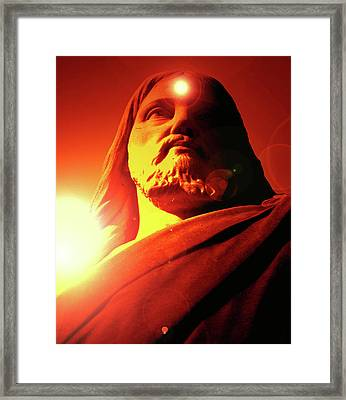 Holy Face No. 12 Framed Print by Ramon Labusch