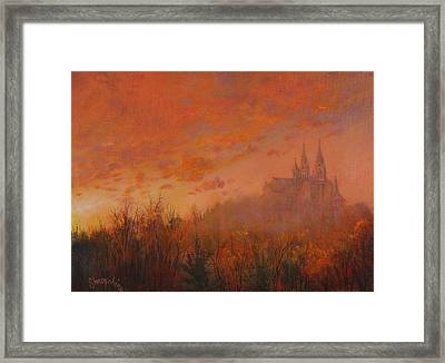 Holy Hill Framed Print by Tom Shropshire