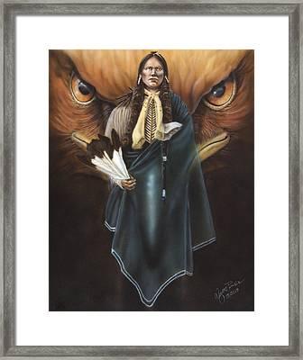 Holy Man Framed Print by Wayne Pruse