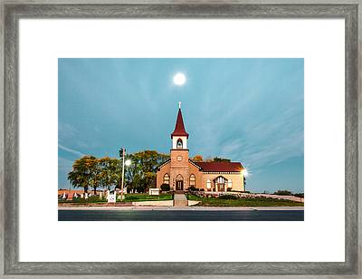 Holy Moon Framed Print by Todd Klassy