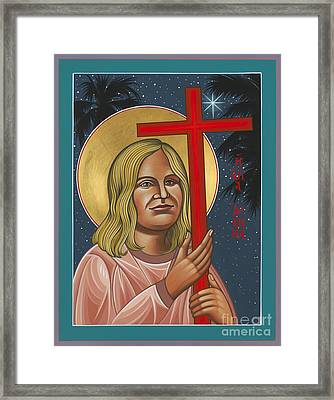 Holy New Martyr Jean Donovan 155 Framed Print by William Hart McNichols