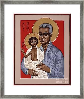 Holy New Martyr Rutilio Grande 050 Framed Print by William Hart McNichols