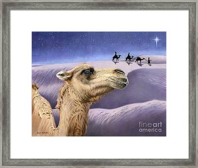Holy Night Framed Print by Sarah Batalka