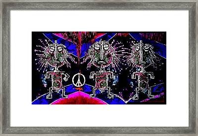 Holy  Warriors Framed Print by Hartmut Jager