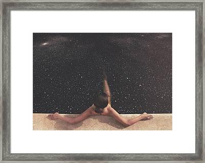 Holynight Framed Print by Fran Rodriguez