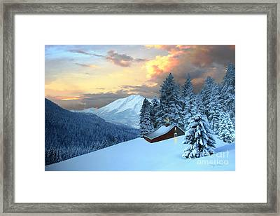 Home And Hearth Framed Print by Corey Ford