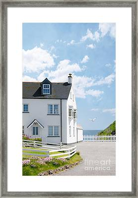 Home By The Sea Framed Print by Amanda And Christopher Elwell