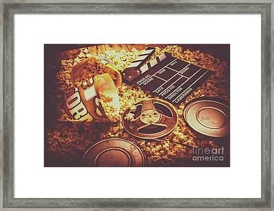 Home Cinema Art Framed Print by Jorgo Photography - Wall Art Gallery