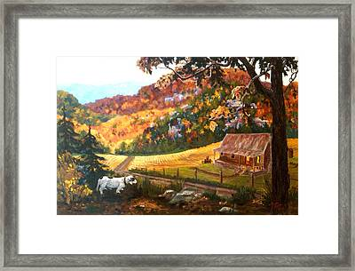 Home From The Hunt Framed Print by Nyiece Pregeant Owens