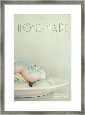Home Made Cookies Framed Print by Priska Wettstein