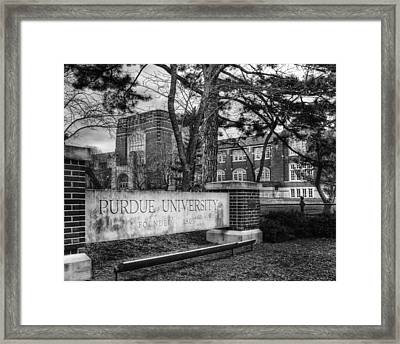 Home Of The Boilers Framed Print by Coby Cooper