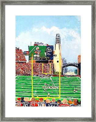 Home Of The Pats Framed Print by Jack Skinner