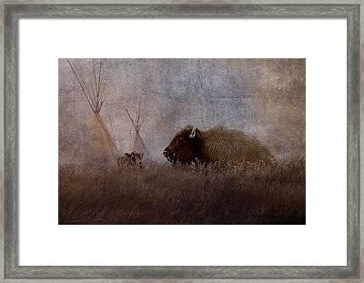 Home On The Range Framed Print by Ron Jones