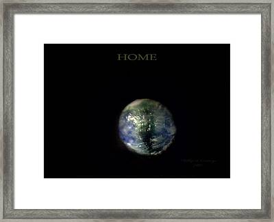 Home Framed Print by Phillip H George
