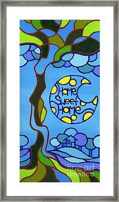Home Sweet Home Framed Print by Dan Keough
