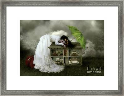 Home Sweet Home Framed Print by Shanina Conway
