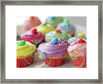 Homemade Cupcakes Framed Print by Richard Newstead
