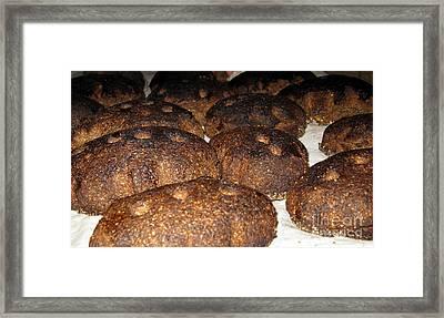 Homemade Lithuanian Rye Bread Framed Print by Ausra Huntington nee Paulauskaite