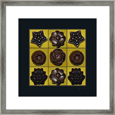 Homemade Pralines Framed Print by Marija Djedovic