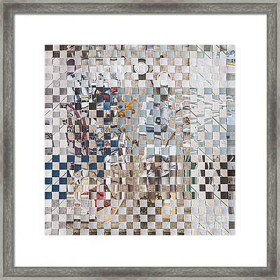 Homespun Framed Print by Jan Bickerton