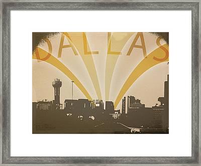 Hometown Glory Framed Print by Rhianna Wurman