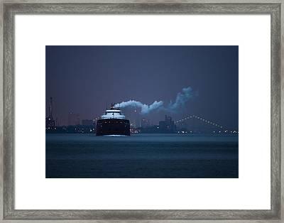 Hon. James L. Oberstar Framed Print by Cale Best