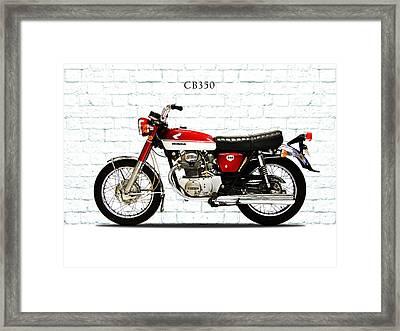 Honda Cb350 1970 Framed Print by Mark Rogan