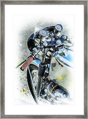 Honda Cb750 Cafe Racer  Framed Print by Tim Gainey