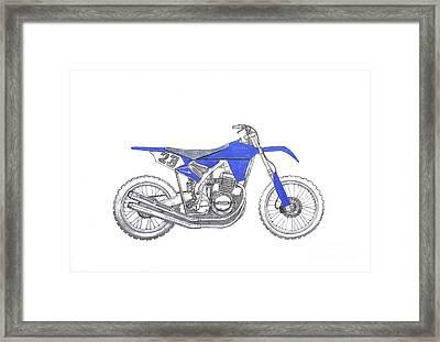 Honda Mud Plugger Framed Print by Stephen Brooks