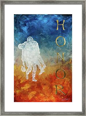 Honor Framed Print by Paul Tokarski