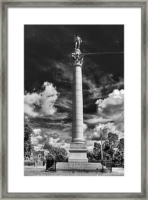 Honoring The Fallen Framed Print by Tim Wilson