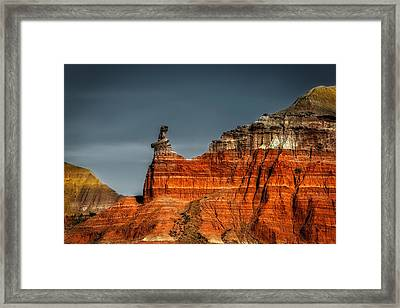 Hoodoo Rock Formation Framed Print by Mountain Dreams