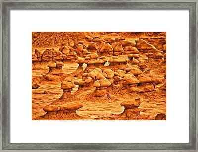 Hoodoos Framed Print by Brent Sisson