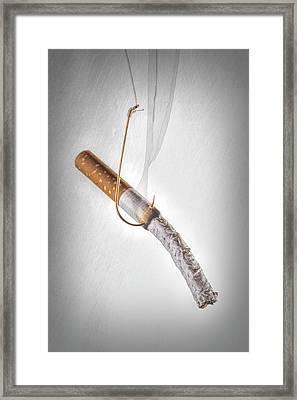 Hooked Framed Print by Tom Mc Nemar