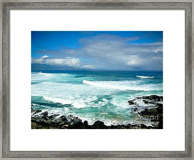 Hookipa Beach Maui Framed Print by Kelly Wade