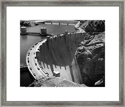 Hoover Dam, 1948 Framed Print by Everett