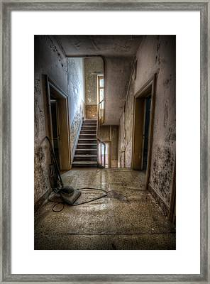Hoover Halllway Framed Print by Nathan Wright