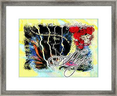 Hope Framed Print by Cassandra Donnelly