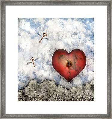 Hope Floats Framed Print by Jacky Gerritsen