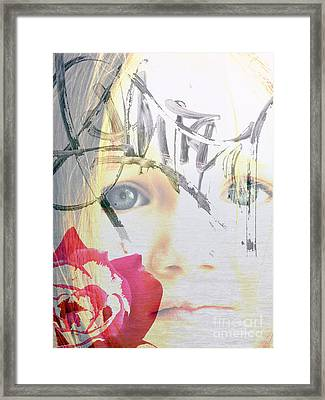 Hope For The Future Framed Print by Amanda Barcon