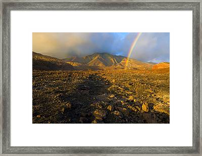 Hope From Desolation Framed Print by Mike  Dawson
