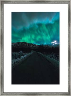 Hope In Light Framed Print by Tor-Ivar Naess